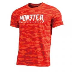 PEAK Mens  Monster Series Round Neck T Shirt